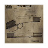 Winchester Magazine Fire Arm, Giclee Print by Dan Sproul