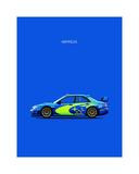 Subaru Impreza Giclee Print by Mark Rogan