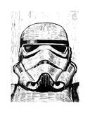 Stormtrooper Giclee Print by Neil Shigley