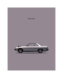 Nissan Skyline 2000GT Giclee Print by Mark Rogan
