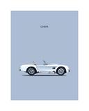 Shelby Cobra 65 Giclee Print by Mark Rogan