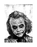 The Joker Giclee Print by Neil Shigley