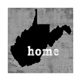 West Virginia  Giclee Print by Luke Wilson