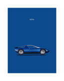 Maserati Bora 1973 Giclee Print by Mark Rogan