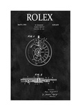 Rolex Calendar Time Piece, 195 Giclee Print by Dan Sproul