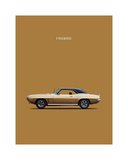 Pontiac Firebird 1969 Giclee Print by Mark Rogan