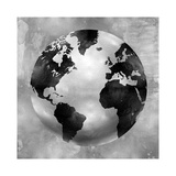 Silver Globe Giclee Print by Russell Brennan