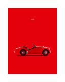 Mark Rogan - Triumph TR3 1959 - Giclee Baskı