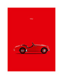 Triumph TR3 1959 Giclee Print by Mark Rogan