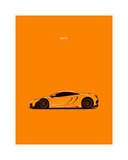 McLaren MP4 Giclee Print by Mark Rogan