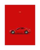 Mazda RX8 Giclee Print by Mark Rogan