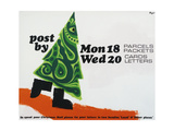 Post by Mon 18th Parcels Packets, Wed 20th Cards Letters Posters by Hans Unger
