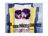 Pack Your Parcels Carefully Prints by Hans Unger