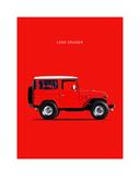 Toyota Land Cruiser FJ40 1977 Giclee Print by Mark Rogan