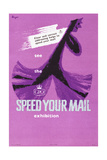 See the 'Speed Your Mail' Exhibition Prints by Hans Unger