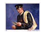 79,242 Postmen Prints by Duncan Grant