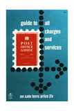 Post Office Guide, July 1957, Guide to All Charges and Services Print by Hans Unger