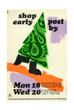Shop Early Post by Mon 18th Parcels Packets, Wed 20th Cards Letters Prints by Hans Unger
