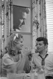 Alana Ladd and Frankie Avalon Photo by  Capital Art
