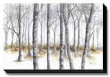 At Peace Stretched Canvas Print by Tita Quintero