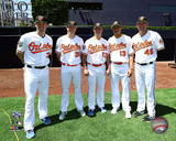 Matt Wieters, Brad Brach, Zach Britton, Manny Machado, & Mark Trumbo 2016 MLB All-Star Game Photo
