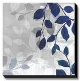 Leaves in the Mist I Stretched Canvas Print by Tandi Venter