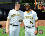 Mark Melancon & Starling Marte 2016 MLB All-Star Game Photo