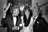 George Burns, Cyd Charisse and Tony Martin Photo by  Capital Art