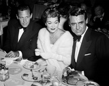 Cary Grant, Jane Wyman and William Holden 1948 Photo by  Capital Art