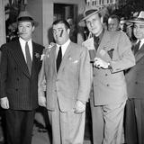 Bud Abbott, Lou Costello and George Jessel 1958 Photographie par  Capital Art