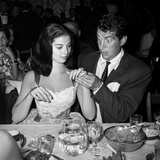 Dean Martin and Pier Angeli 1955 Photo by  Capital Art