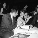 Jack Bean, Mitzi Gaynor and Johnnie Ray Photo by  Capital Art