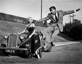Marilyn Monroe and Sammy Davis Jr on Set of How to Marry a Millionaire 1953 Photo by  Capital Art