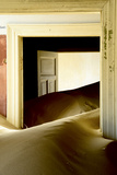Abandoned House Full Of Sand Photographic Print by Enrique Lopez-Tapia