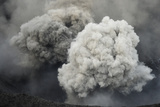 Ash Cloud from Eruption of Yasur Volcano, Tanna Island, Vanuatu, September 2008 Photographic Print by Enrique Lopez-Tapia