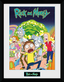 Rick and Morty - Compilation Collector Print