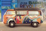 VW Camper Barrio Revolucion Posters