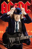 AC/DC- Angus Young Live Poster