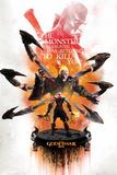 God Of War- The Monster Has Returned Plakater