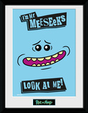 Rick and Morty - Mr. Meeseeks Collector Print