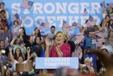 Campaign 2016 Clinton Kaine Photographic Print by Matt Slocum