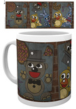 Five Nights At Freddy's - Vintage Posters Mug Tazza