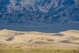 Khongor Sand Dunes, Govi Gurvan Saikhan National Park, Gobi Desert, South Mongolia. June 2015 Photographic Print by Inaki Relanzon