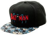 Batman- Hero Bill Logo Snapback Hat