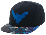 Nightwing- Action Bill Logo Snapback Hat