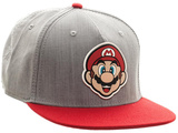 Nintendo- Mario Patch Snapback Chapéu