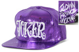 Suicide Squad- Joker Metallurgic Scale Snapback Hat