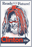 G. Clinton 2016 (White Signboard) Prints