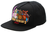 Five Nights At Freddys- Character Snapback Chapéu