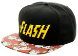 The Flash- Speedster Hero Bill Snapback Hat